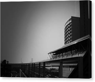 Tokyo Metro Station Canvas Print by Naxart Studio
