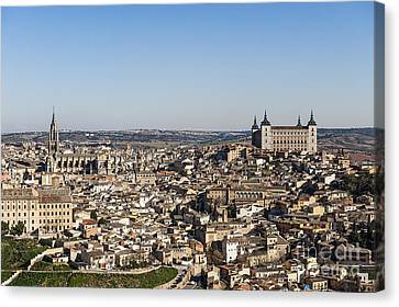 Toledo Cityscape Canvas Print by John Greim