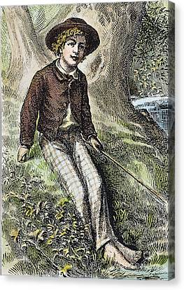Tom Sawyer, 1876 Canvas Print by Granger