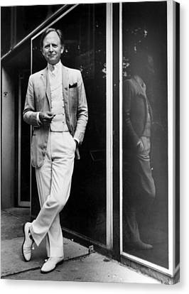 Tom Wolfe In 1981 Canvas Print