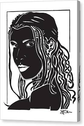 Toni Canvas Print by Artistic Photos