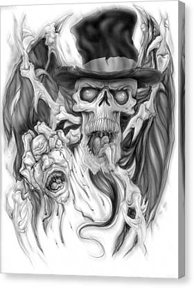 Top Hat Canvas Print by Mike Royal