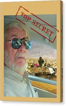 Top Secret Canvas Print by Larry Mulvehill