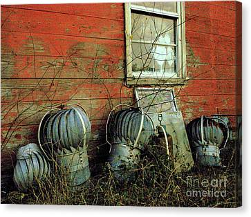 Toppled Crowns Canvas Print