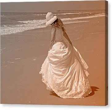 Topsail Gown Canvas Print by Betsy Knapp