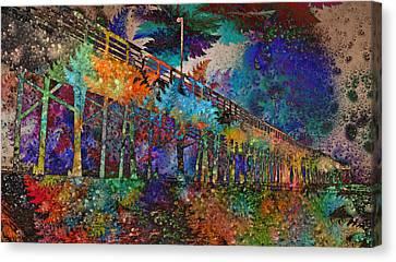 Topsail Island Stylin' Canvas Print