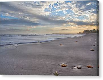 Topsail Living  Canvas Print by Betsy Knapp