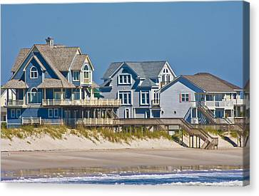 Topsail View Canvas Print by Betsy Knapp