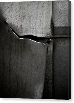 Torn Curtain Canvas Print by Odd Jeppesen