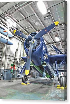 Torpedo Bomber Canvas Print by Jason Abando