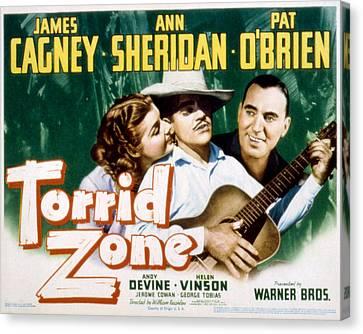 Torrid Zone, Ann Sheridan, James Canvas Print by Everett