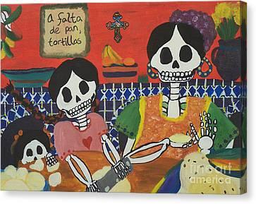 Tortillas Canvas Print by Sonia Orban-Price