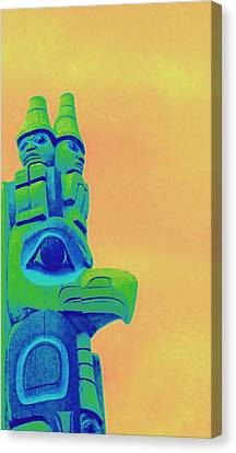 Totem 50 Canvas Print by Randall Weidner