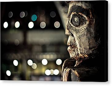 Totem Spirit Canvas Print by Justin Albrecht