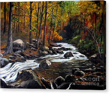 Touch Of Fall Canvas Print by Ronald Tseng