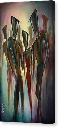 'touch Of Red' Canvas Print by Michael Lang