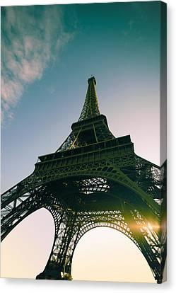 Tour Eiffel Canvas Print by Images by Fabio