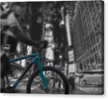 Touring The City Canvas Print by Linda Seacord