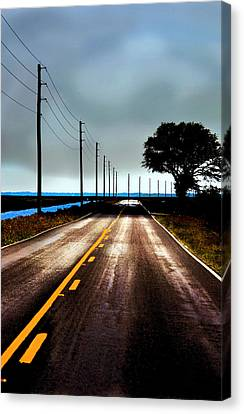 Towards The Coast Canvas Print
