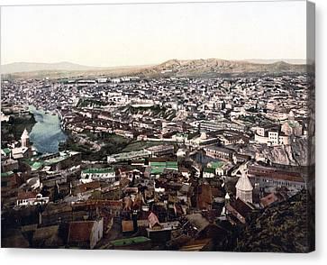 Tbilisi Canvas Print - Towards The Megectski Castle - Tbilisi Georgia by International  Images