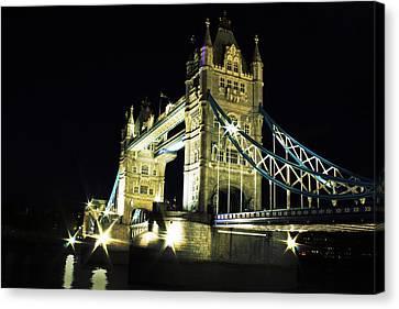 Tower Bridge Canvas Print by Dawid Jaron