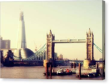 Tower Bridge Canvas Print by Eva Millan Photography