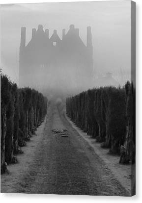 Tower In The Mist Canvas Print