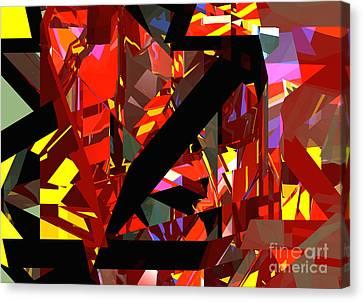 Tower Series 43 Firework Canvas Print