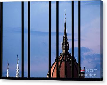 Towers Canvas Print by Odon Czintos
