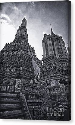 Towers Canvas Print by Thanh Tran