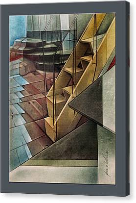Towerstairscape 2002  Canvas Print