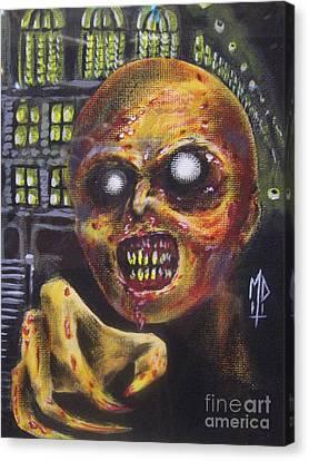 Town Mummy Canvas Print by Matt Detmer