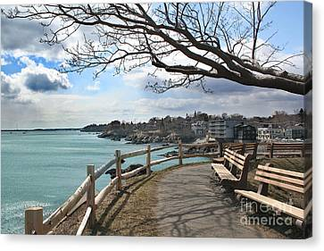 Town Of Marblehead Canvas Print