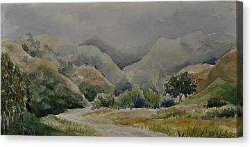 Towsley Canyon Morning Canvas Print