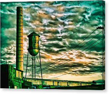 Toxic Sky Canvas Print by Colleen Kammerer