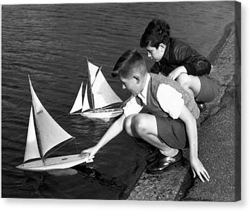 Toy Boats Canvas Print by Harry Todd