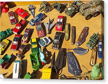 Toy Cars Canvas Print by Michael Clarke JP