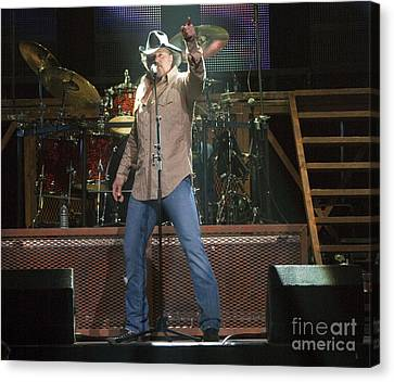 Trace Adkins Canvas Print by Darleen Stry