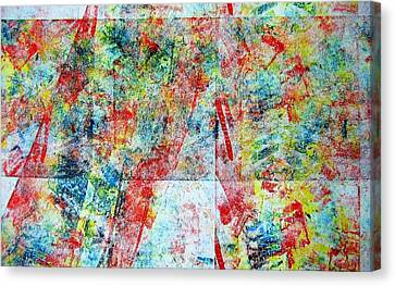 Tracking Color Canvas Print by Aimee Bruno