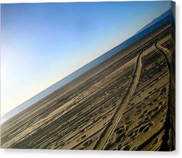 Tracks Canvas Print by Jon Berry OsoPorto