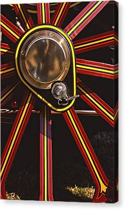 Traction Canvas Print by Meirion Matthias