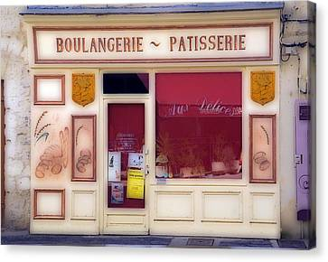 Canvas Print featuring the photograph Traditional French Shop by Rod Jones