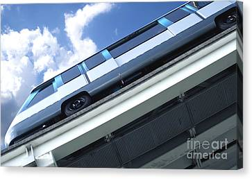 Monorail Canvas Print - Train by Blink Images