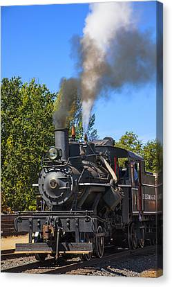 Train Number One Canvas Print by Garry Gay