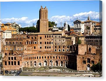 Dei Canvas Print - Trajan's Market  by Fabrizio Troiani