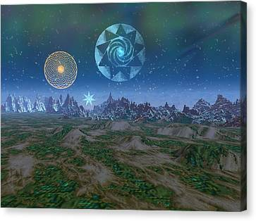 Tralfamadore Canvas Print by Diana Morningstar