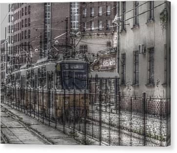 Tramway Canvas Print by Angel Jesus De la Fuente