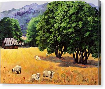 Tranquil Pastures Canvas Print