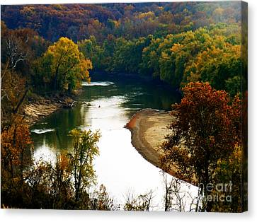 Canvas Print featuring the photograph Tranquil View by Peggy Franz