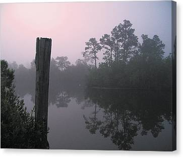 Canvas Print featuring the photograph Tranquility by Brian Wright